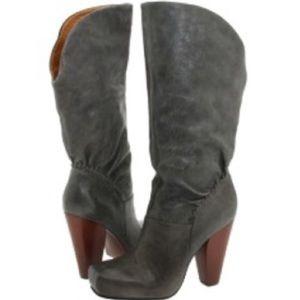 Frye Black Leather Marta Boot